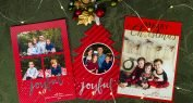 Christmas Card printed using Foil Direct with Automated Feeder by ImPress Systems
