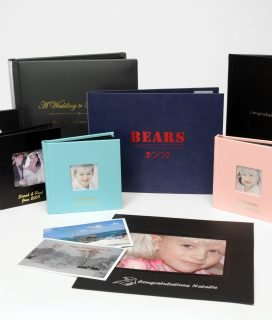 Photo books, frames, albums & mats printed on Foil Xpress by ImPress Systems