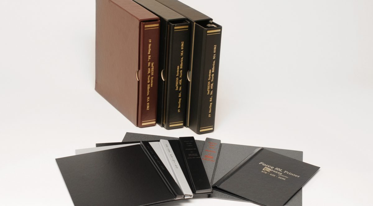 Print spines of book with Foil Xpress by ImPress Systems